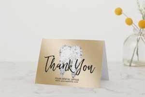 Dental-Office-Dentist-Modern-Gold-Thank-You-_-Zazzle_com